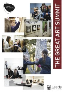 The Great Art Summit Flyer page 1